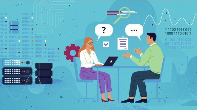 illustration of how to create a smooth hiring experience for data scientists