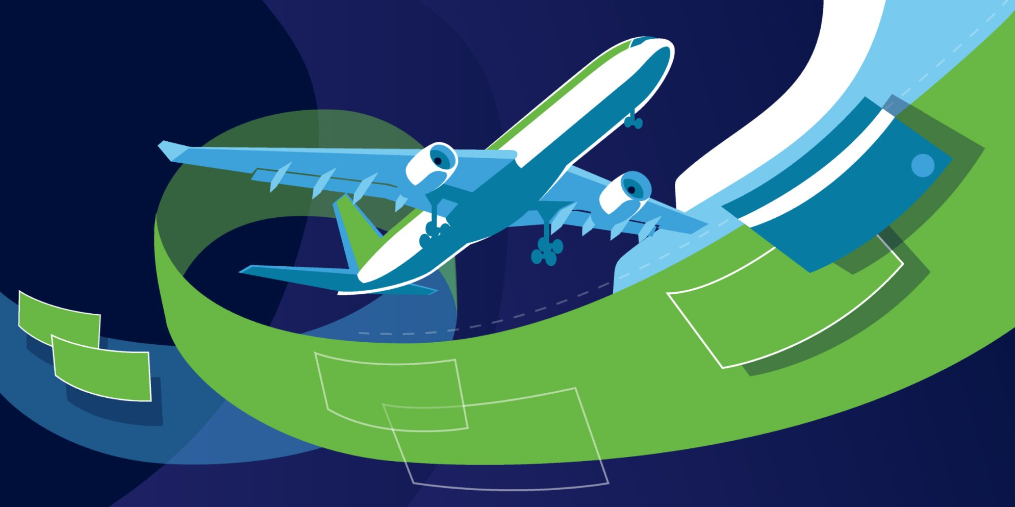 Illustration of changing travel patterns' impact on fraud in Feedzai's Financial Crime Report
