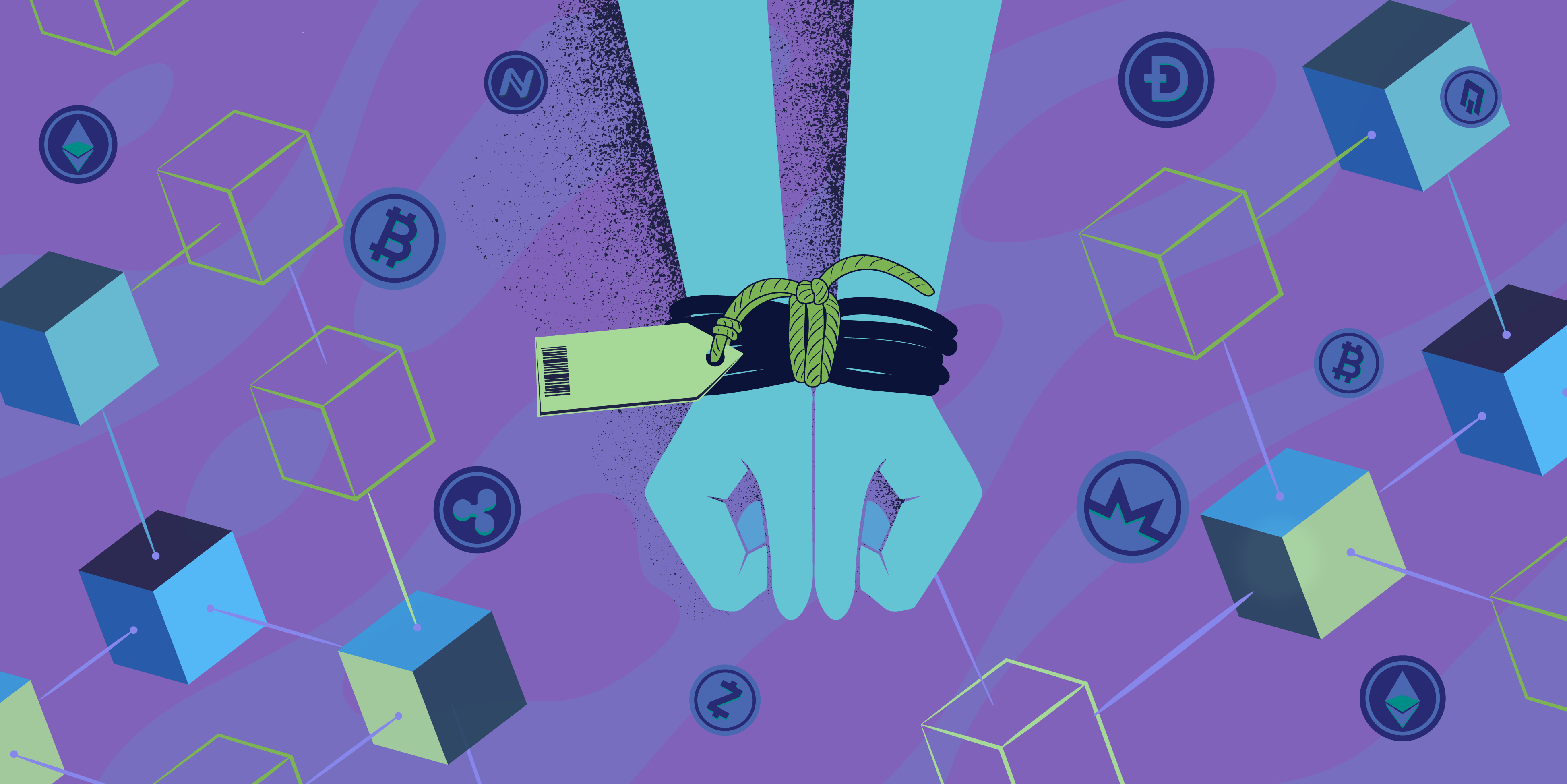 How blockchain can improve banks' AML operations & stop human trafficking & other crimes